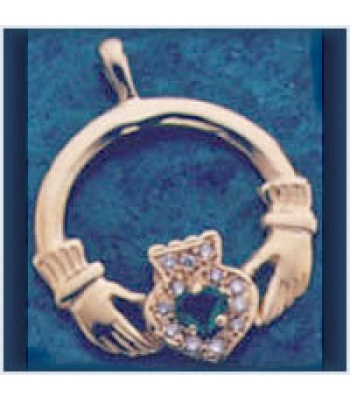 Cluster Claddagh Pendant
