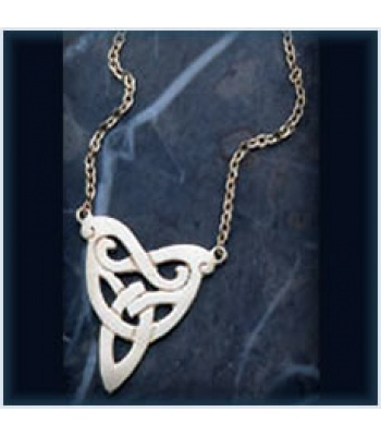 Triangular Knot Necklace