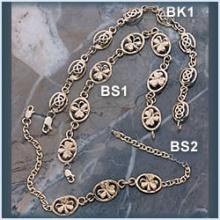 Three Charm Shamrock Bracelet
