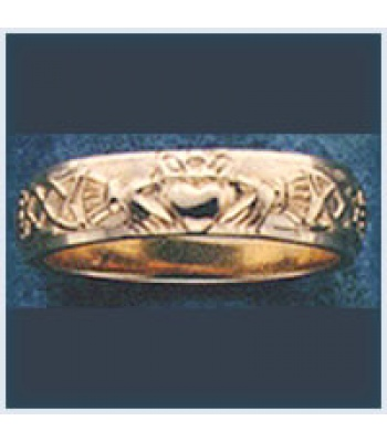 Claddagh Wedding Band (5mm)
