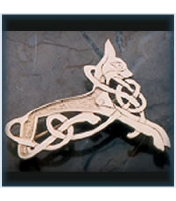 Celtic Cat Brooch