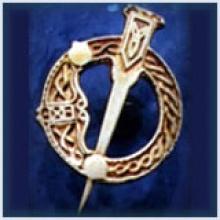 Tara Brooch Tie Pin