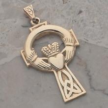 Extra Large Claddagh Cross
