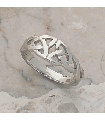 Double Trilogy Knot Ring