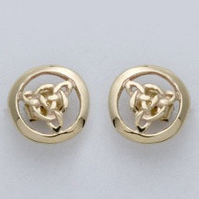 Fancy  Knot Stud Earrings