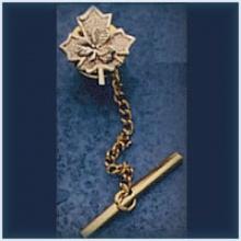 Maple Leaf/Shamrock Tie Pin