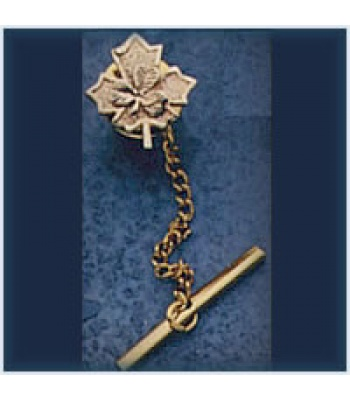 Maple Leaf/Shamrock Tie Pin