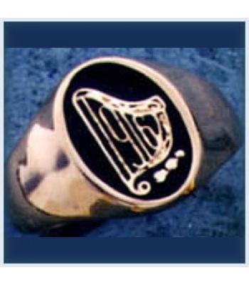 Gent's Harp Ring
