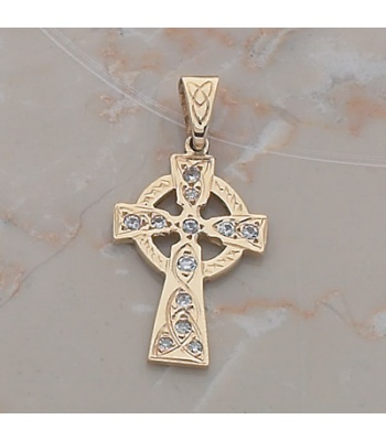 Heavy Cross with Diamonds