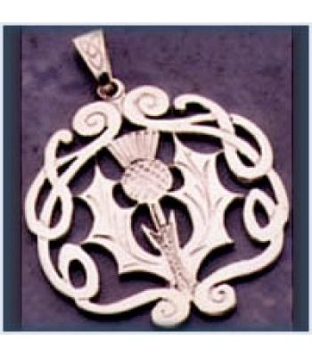 Celtic Thistle Pendant