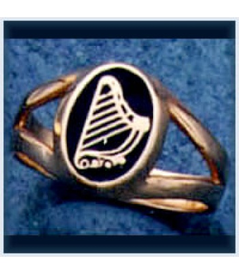 Ladies Harp Ring