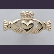 Claddagh Cufflinks (Straight )