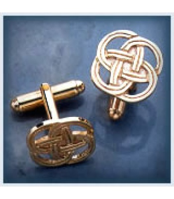 Open Knotwork Cufflinks