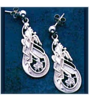 Open Dragon Earring