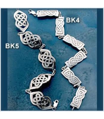 Wide Knot Bracelet