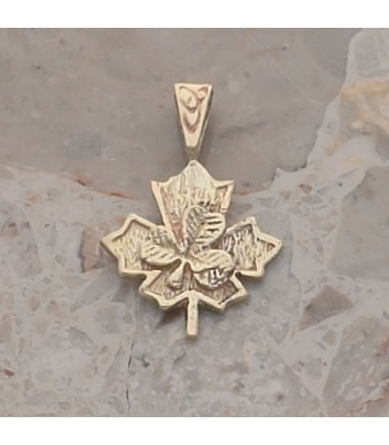 Irish Canadian Pendant