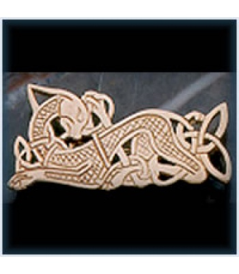Celtic Dog Brooch
