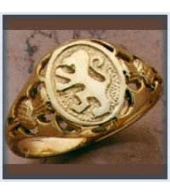 Ladies Lion Rampant Ring