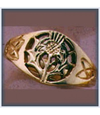Small Thistle Ring