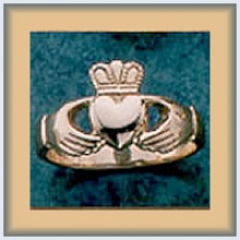 Gents Claddagh Ring