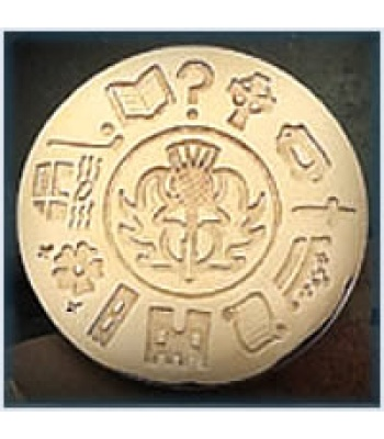 History of Scotland Brooch