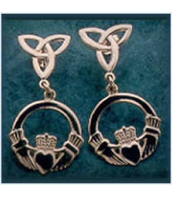 Trilogy Claddagh Earrings