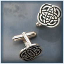 Closed Celtic Knot Cufflinks