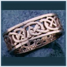 Open Round Knot Ring