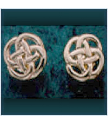 Celtic Knot Stud Earrings
