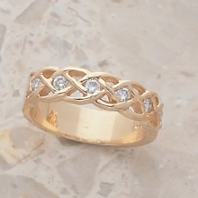 Marsha's 4 Diamond Band Ring