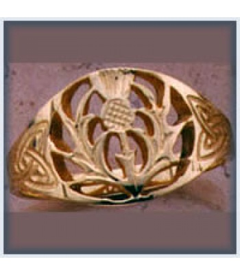 Large Thistle Ring